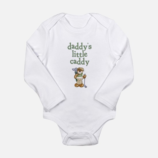 Daddy's Little Caddy Infant Creeper Long Sleeve In