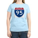 Interstate 95 Women's Pink T-Shirt