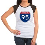 Interstate 95 Women's Cap Sleeve T-Shirt