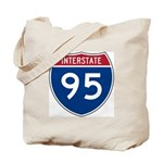 Interstate 95 Tote Bag