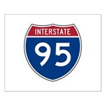Interstate 95 Small Poster