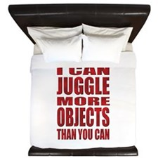 I can juggle more objects than you can King Duvet