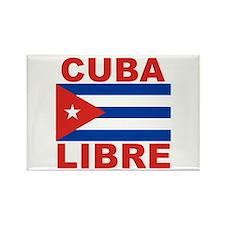 Cuba Libre Free Cuba Rectangle Magnet