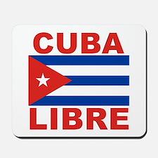 Cuba Libre Free Cuba Mousepad