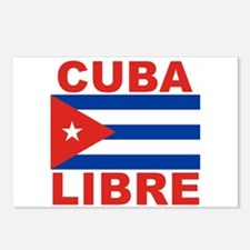 Cuba Libre Free Cuba Postcards (Package of 8)