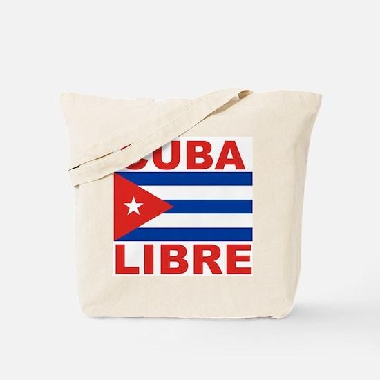 Cuba Libre Free Cuba Tote Bag