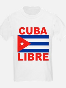 Cuba Libre Free Cuba Kids T-Shirt