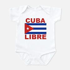 Cuba Libre Free Cuba Infant Creeper