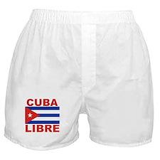 Cuba Libre Free Cuba Boxer Shorts