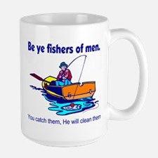 Be ye fishers of men Mug