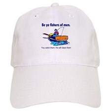 Be ye fishers of men Baseball Cap