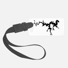 dragon only_black.png Luggage Tag