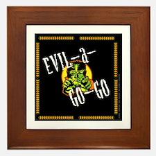Evil A Go Go Wolfman Framed Tile