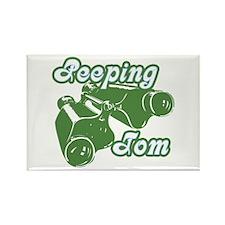 Peeping Tom Rectangle Magnet