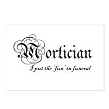 Postcards (Package of 8) - Mortician