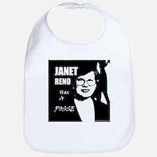 Janet Reno has a Posse Bib