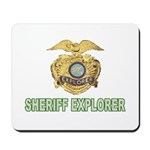 Sheriff Explorer Mousepad