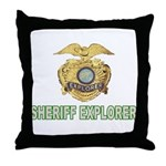 Sheriff Explorer Throw Pillow