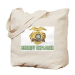 Sheriff Explorer Tote Bag