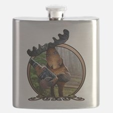 Party Moose Flask
