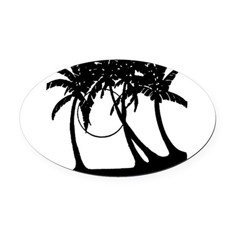 881815.gif Oval Car Magnet