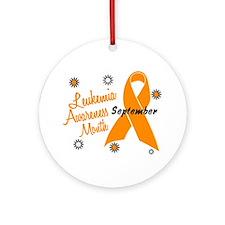 Leukemia Awareness Month Ornament (Round)