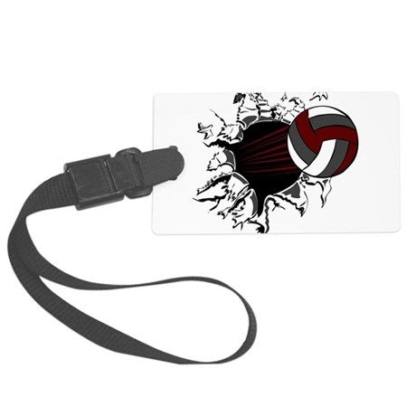 32209853_crmgrywht.png Large Luggage Tag