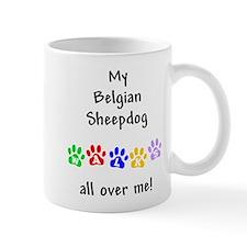 Belgian Sheepdog Walks Mug