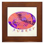 Aubrey Framed Tile