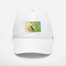 Hummingbird on green Baseball Baseball Cap