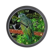 Pionus Art Wall Clock