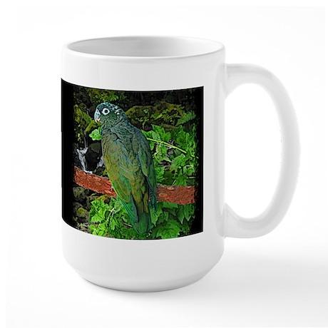Pionus Art Large Mug