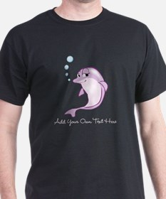 Cute Purple Dolphin T-Shirt