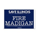 Fire Madigan Car Magnet 20 x 12