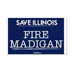 Fire Madigan 20x12 Wall Decal