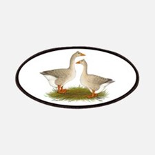 Tufted Buff Geese Patches