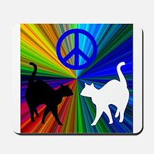 Peace Cats Mousepad