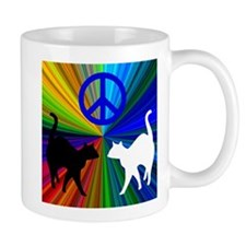 Peace Cats Mug