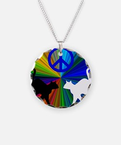 Peace Cats Necklace