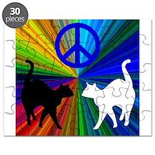 Peace Cats Puzzle