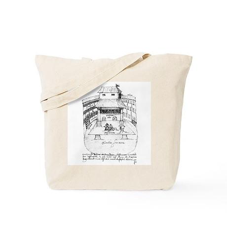 De Witt Drawing Tote Bag