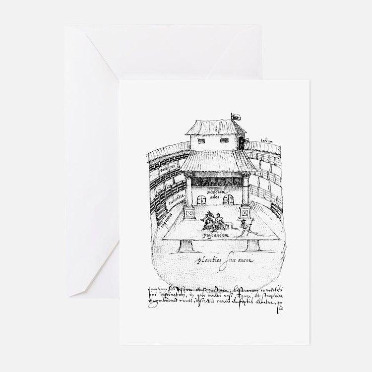 De Witt Drawing Greeting Cards (Pk of 10)
