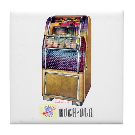Rocket Model 1432 Tile Coaster