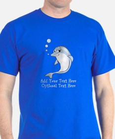 Cute Blue Dolphin T-Shirt