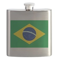 Flag of Brazil Flask