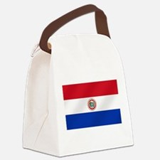 Flag of Paraguay Canvas Lunch Bag
