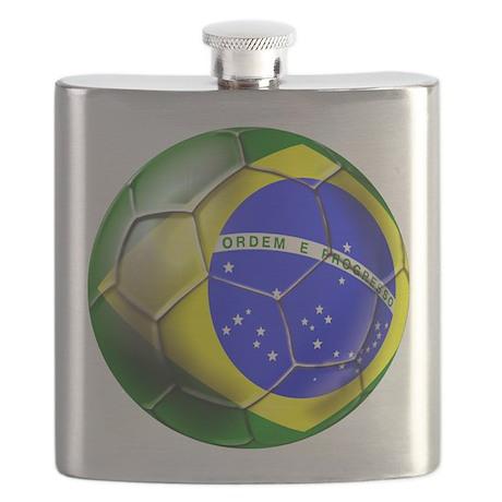 Brazil Soccer Ball Flask