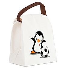 I Like Soccer Canvas Lunch Bag