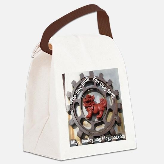 Foo Main Canvas Lunch Bag