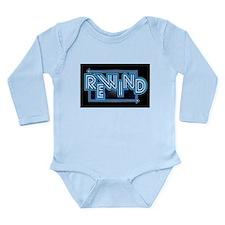 Rewind Band Long Sleeve Infant Bodysuit